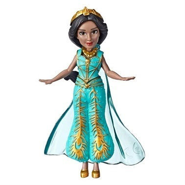 Disney Princess Disney Princess Aladdin Mini Film Figür Jasmine Teal Renkli